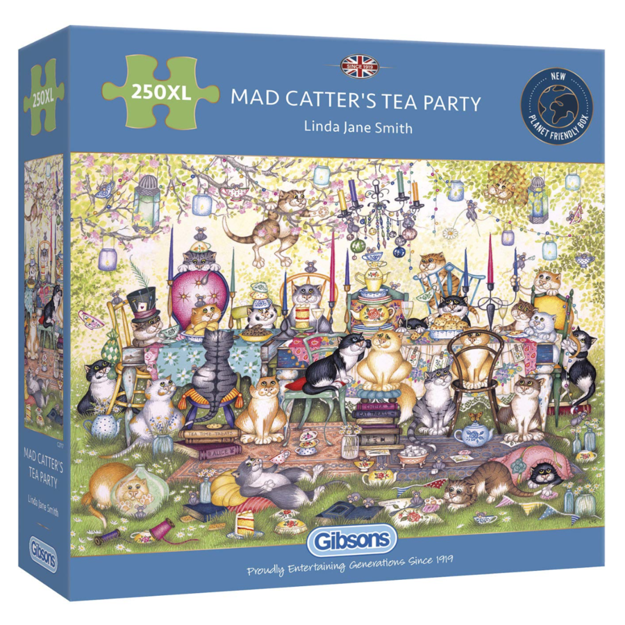 Mad Catter's Tea Party  - puzzel van 250XL stukjes-1