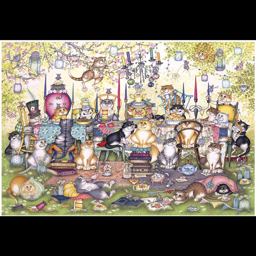 Mad Catter's Tea Party  - puzzel van 250XL stukjes-2