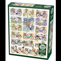 thumb-Des Bicyclettes Colorées - puzzle de 1000 pièces-2