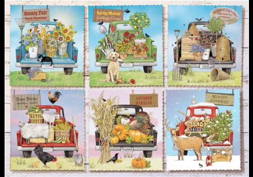 Camions de marché des agriculteurs - 1000 pièces