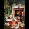 Cobble Hill Christmas kittens - puzzel van 1000 stukjes