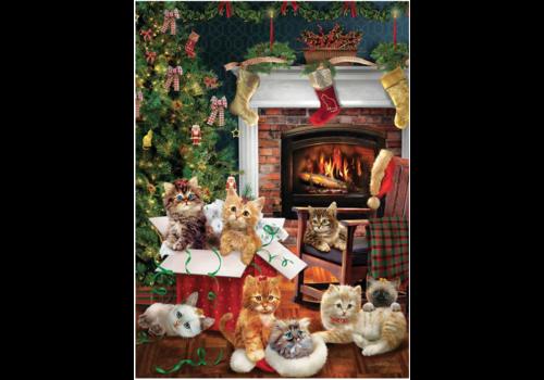 Chatons de Noël - 1000 pièces