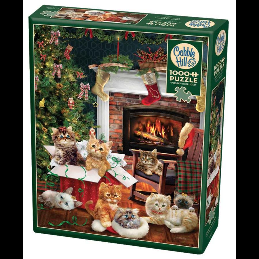 Christmas kittens - puzzel van 1000 stukjes-2