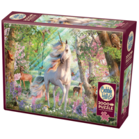 thumb-Eenhoorn in het dierenbos- puzzel van  2000 stukjes-2