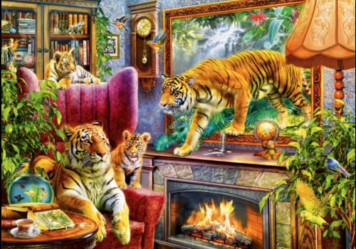 Bluebird Puzzle Les tigres prennent vie  - 1000 pièces