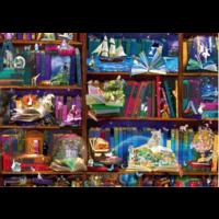 thumb-Bibliotheek avonturen  - puzzel van 1000 stukjes-1