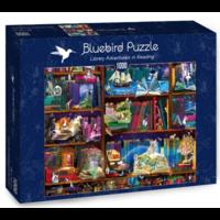 thumb-Bibliotheek avonturen  - puzzel van 1000 stukjes-2