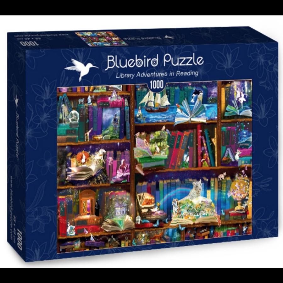 Bibliotheek avonturen  - puzzel van 1000 stukjes-2