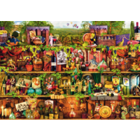 thumb-Wine Shelf - puzzle of 1000 pieces-1