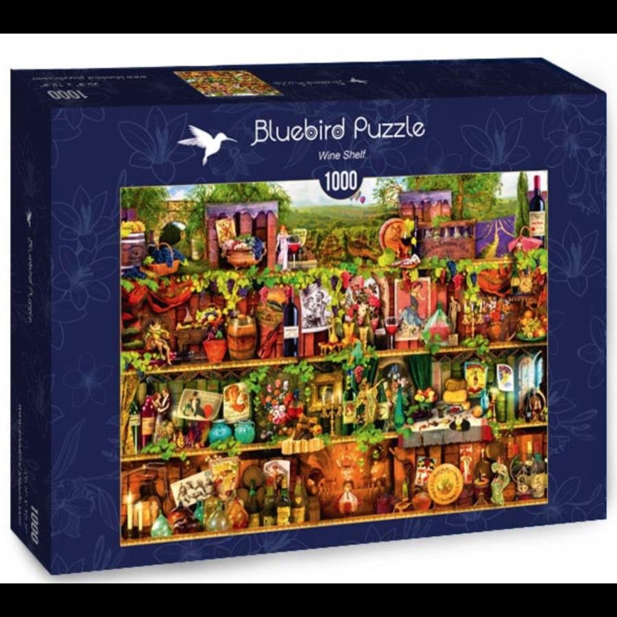 Wine Shelf - puzzle of 1000 pieces-2