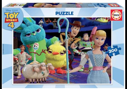 Educa Toy Story 4 - puzzel van 200 stukjes