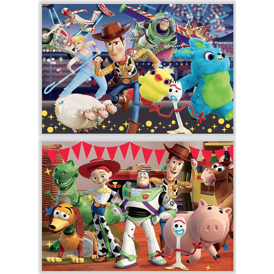 Toy Story 4  - 2 puzzles of 100 pieces-2