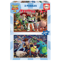 thumb-Toy Story 4  - 2 puzzles of 100 pieces-1