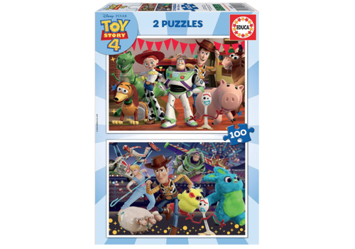 Toy Story 4 - 2 x 100 pieces