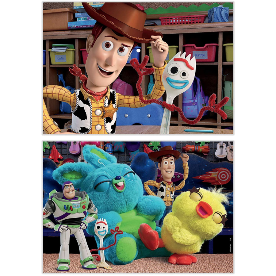 Toy Story 4 - 2 x 48 pieces-2