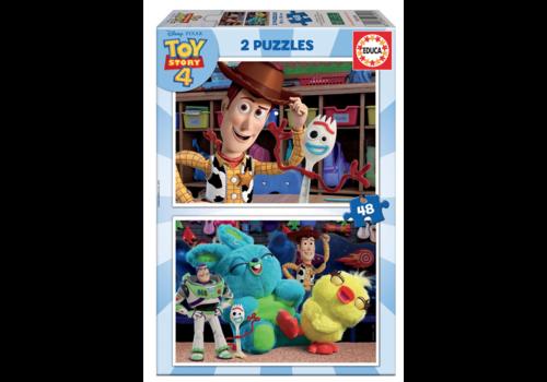 Toy Story 4 - 2 x 48 stukjes