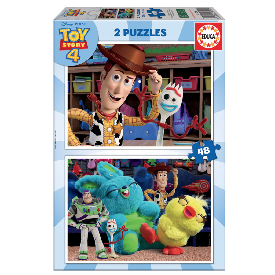 Toy Story 4 - 2 x 48 pieces-1