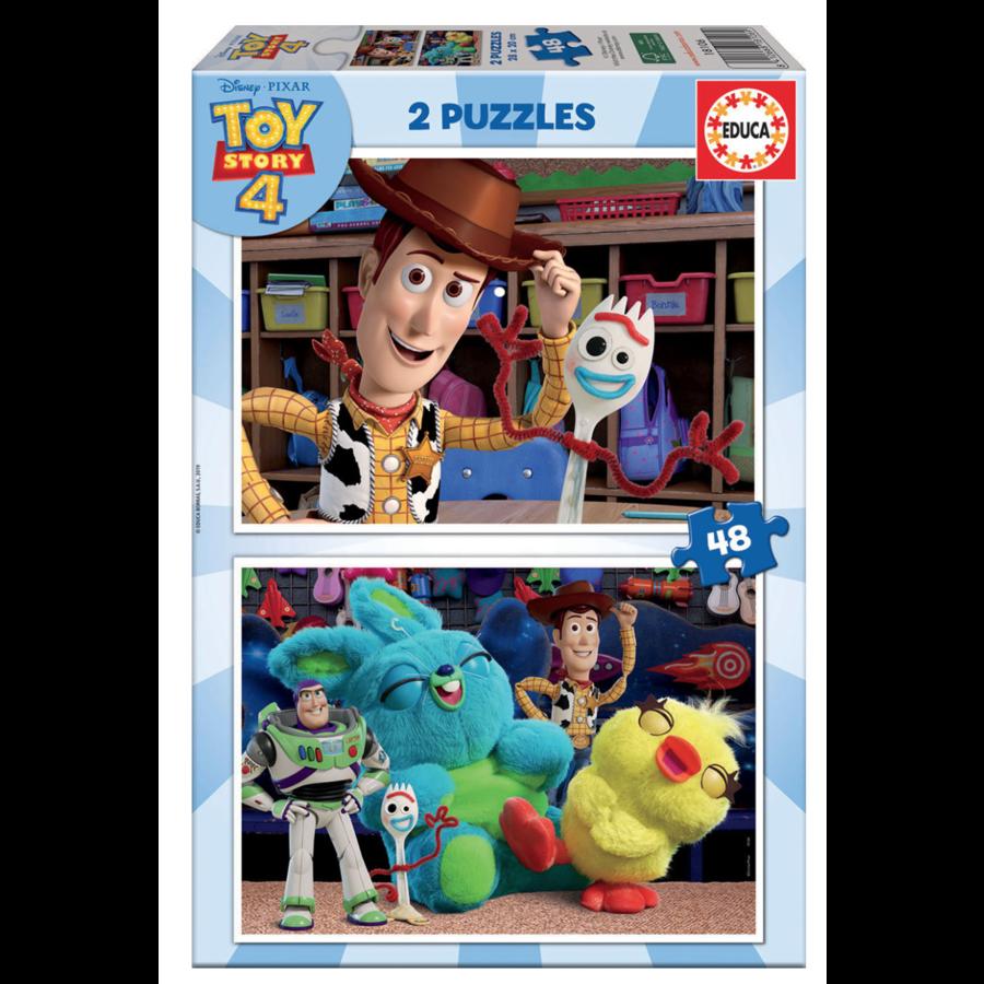 Toy Story 4 - 2 x 48 stukjes-1