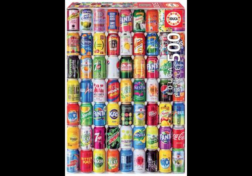 Educa Canettes de Soda - 500 pièces