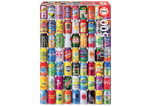 Educa Soft Cans - 500 pieces