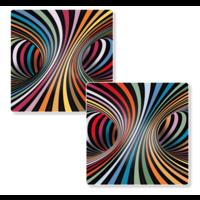 thumb-Puzzel Double Candy - Dubbelzijdige puzzel in Hout - 123 stukjes-2