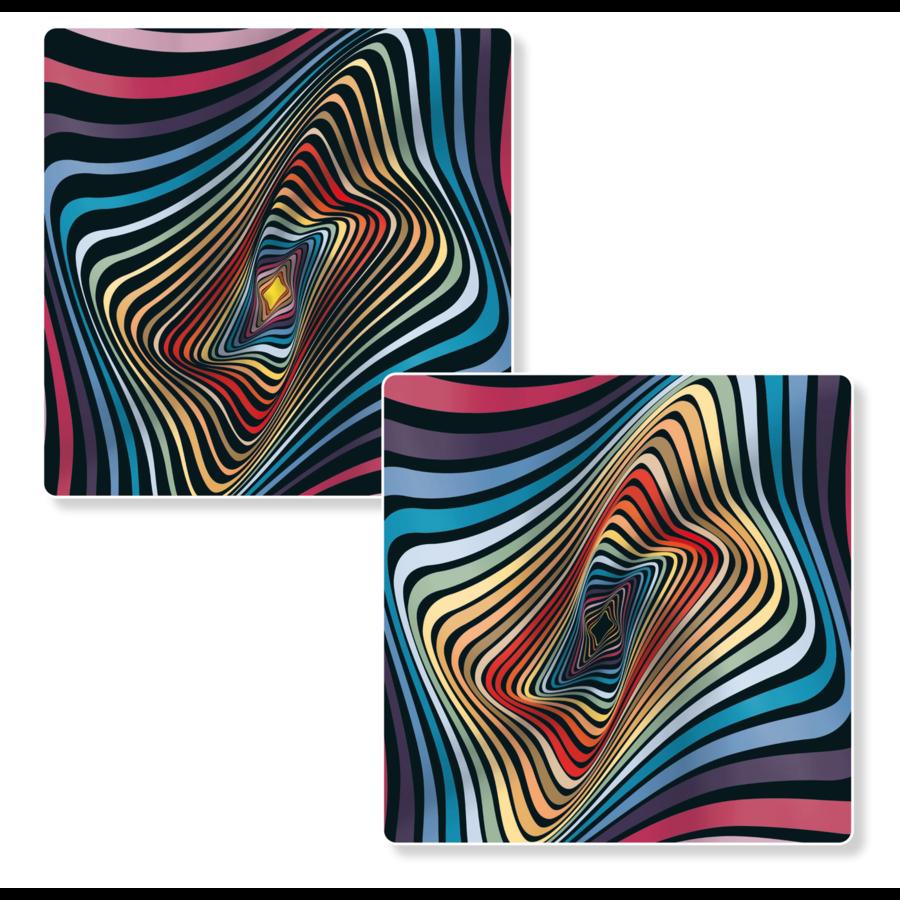 Puzzel Double Jelly - Dubbelzijdige puzzel in Hout - 123 stukjes-4