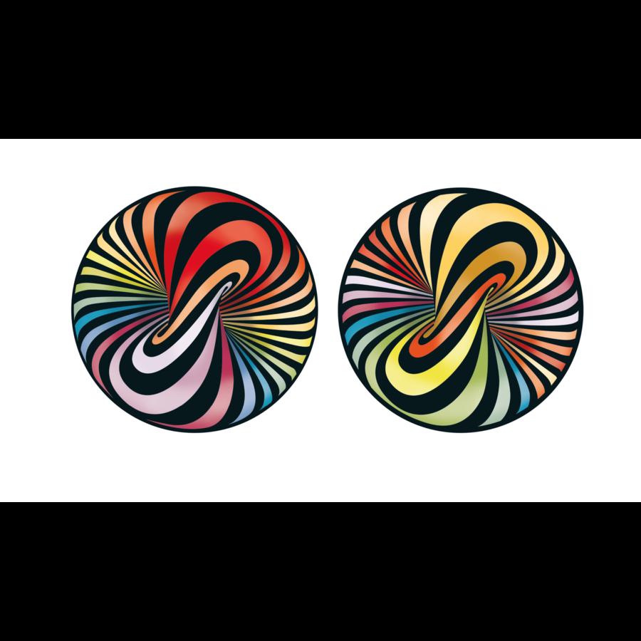 Puzzel Double Lolly - Dubbelzijdige puzzel in Hout - 88 stukjes-4
