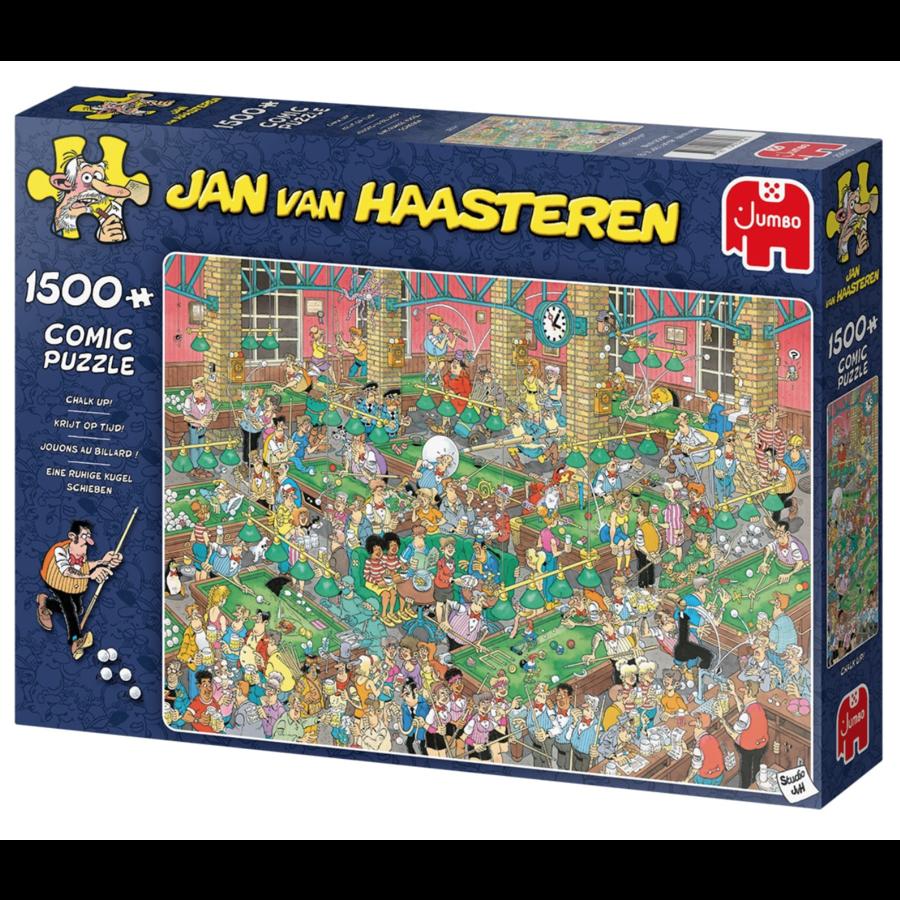 PRE-ORDER - Krijt op tijd - JvH - 1500 stukjes-1
