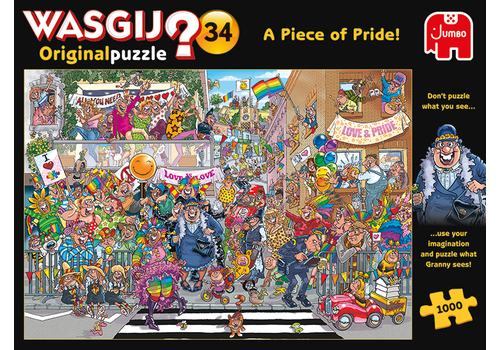 Wasgij Original 34 - A Piece of Pride! - 1000 pieces