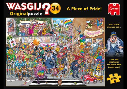 Jumbo Wasgij Original 34 - A Piece of Pride! - 1000 stukjes