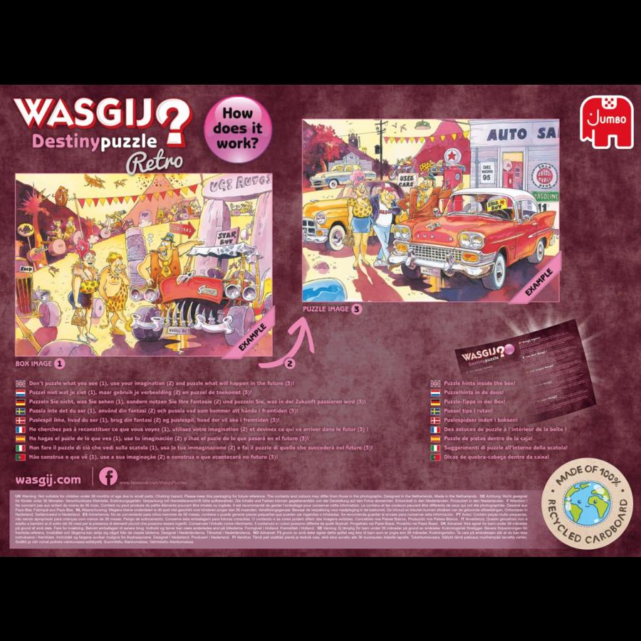 PRE-ORDER - Wasgij Destiny  Retro 4 - The Wasgij Games! - 1000 stukjes-4