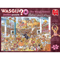 thumb-PRE-ORDER - Wasgij Destiny  Retro 4 - The Wasgij Games! - 1000 stukjes-3