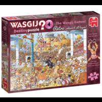 thumb-PRE-ORDER - Wasgij Destiny  Retro 4 - The Wasgij Games! - 1000 stukjes-5