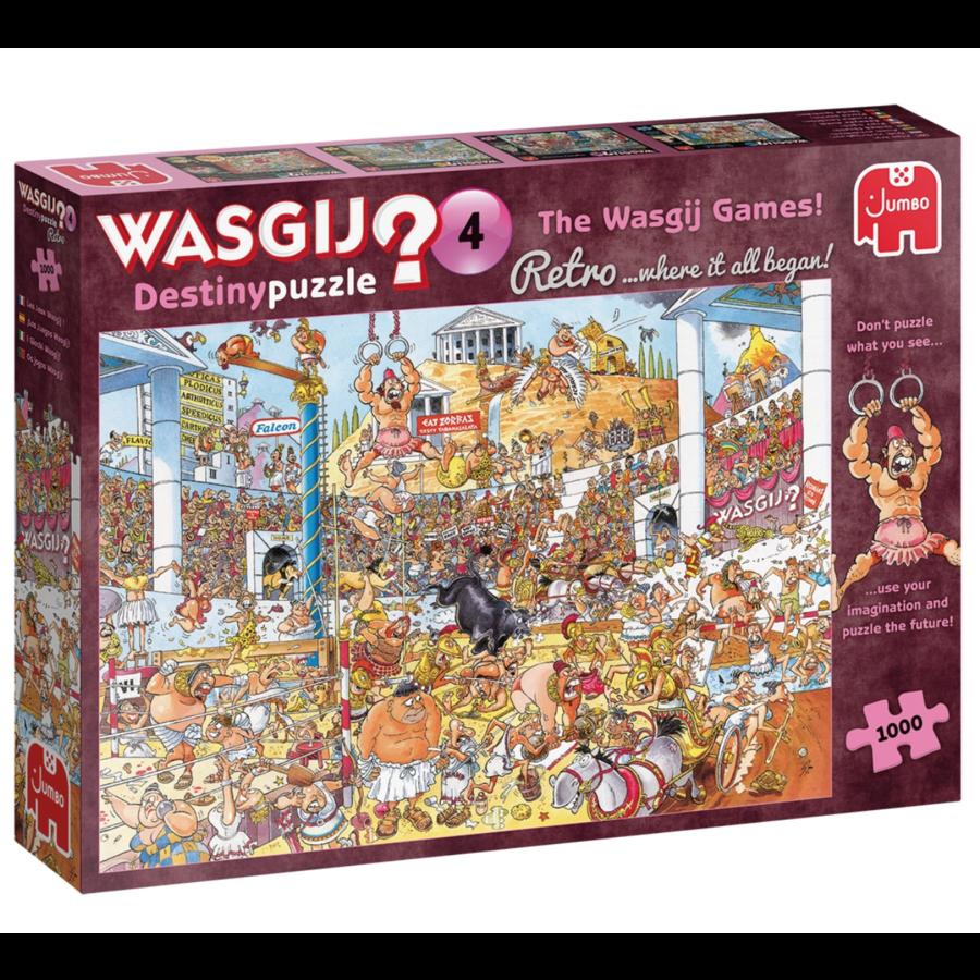 PRE-ORDER - Wasgij Destiny  Retro 4 - The Wasgij Games! - 1000 stukjes-5