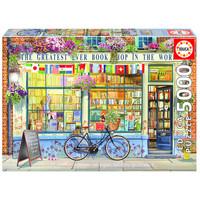 thumb-De beste boekhandel ter wereld  - puzzel van 5000 stukjes-1