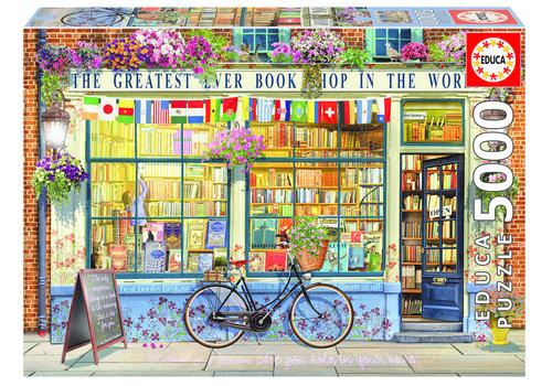 De beste boekhandel ter wereld - 5000 stukjes
