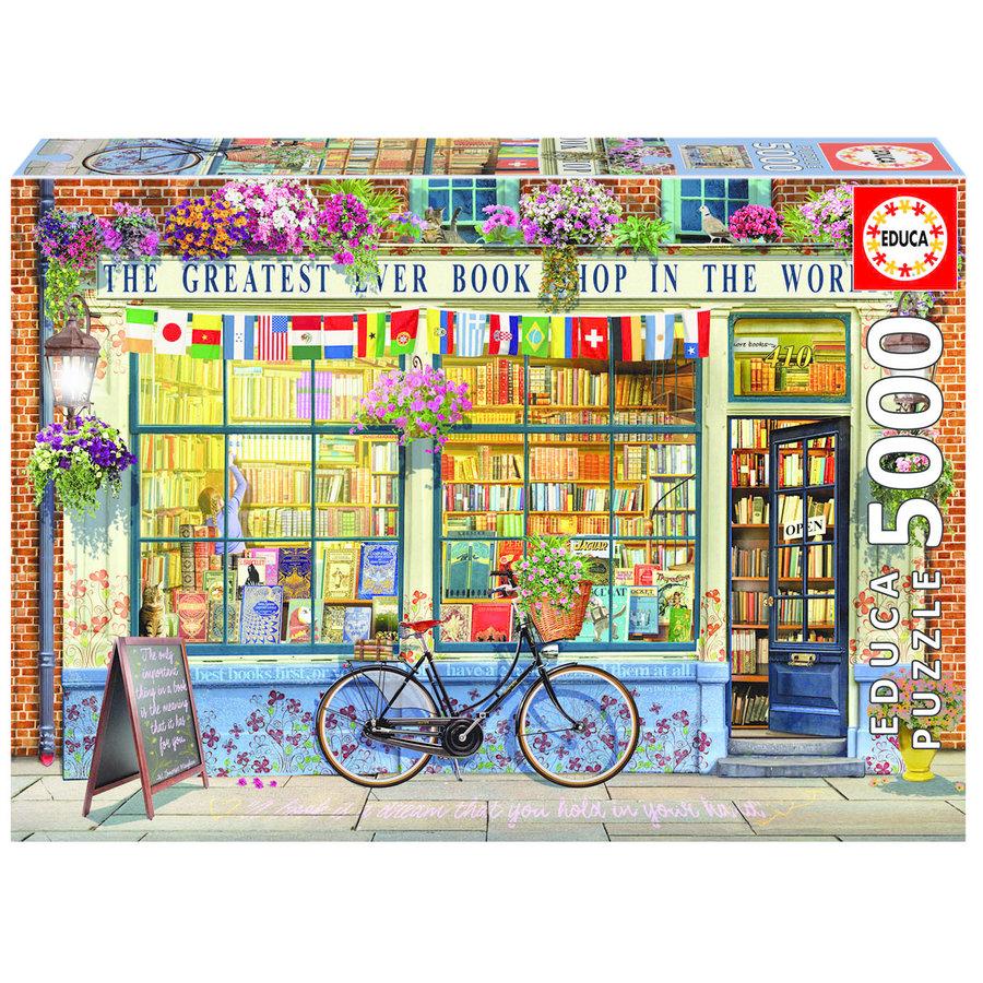 La meilleure librairie du monde - puzzle de 5000 pièces-1