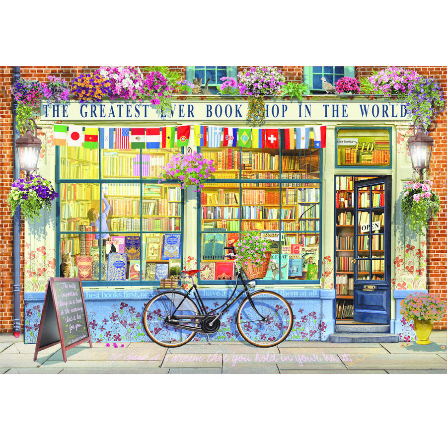 La meilleure librairie du monde - puzzle de 5000 pièces-2