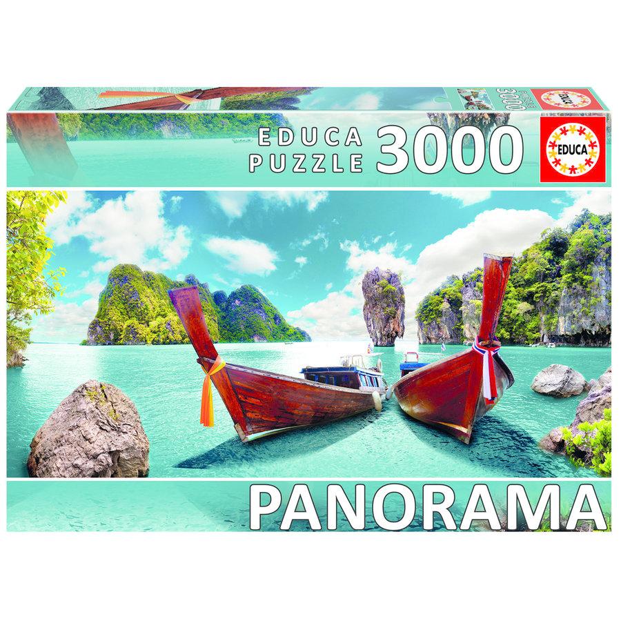 Phuket à Thailande - puzzle de 3000 pièces-1