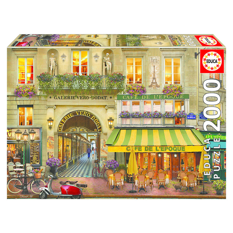 Galerie Paris - puzzle de 2000 pièces-1