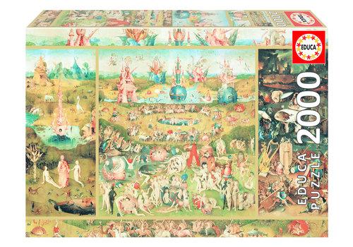 Educa Le jardin des délices - 2000 pièces