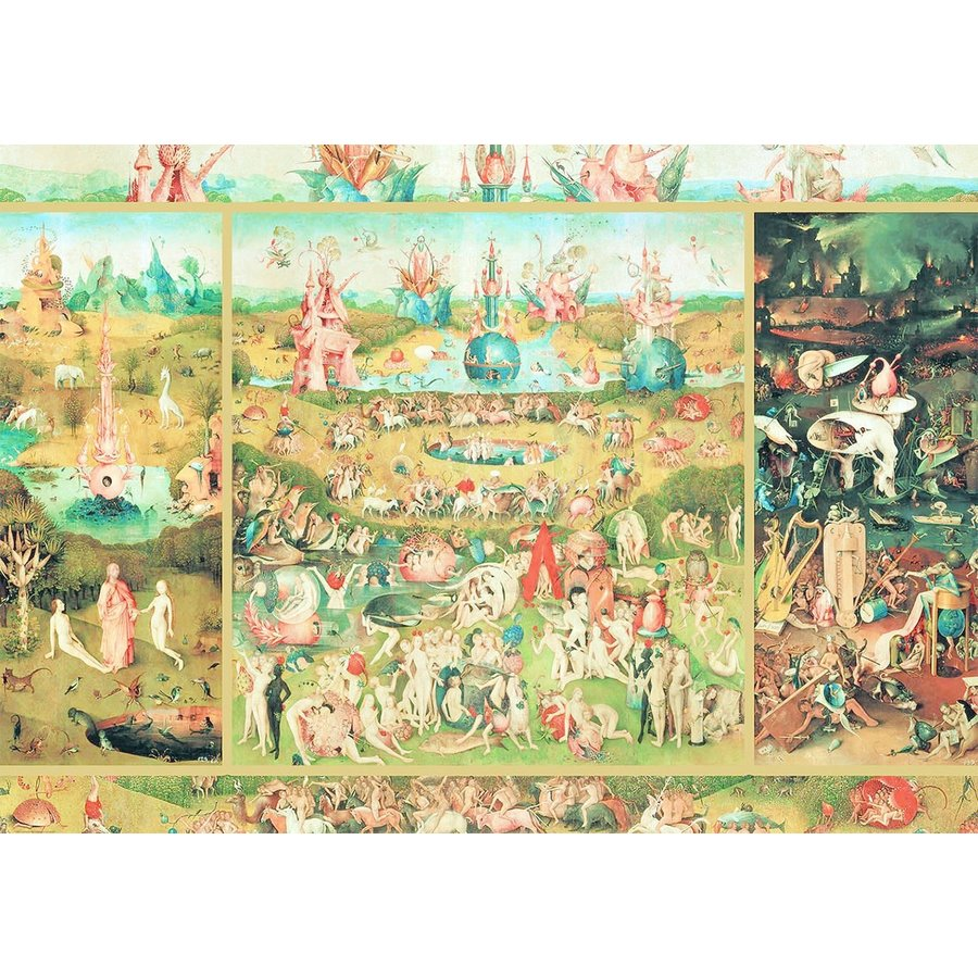 Tuin der Lusten  - puzzel van 2000 stukjes-2