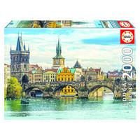 thumb-Vue de Prague - puzzle de 2000 pièces-1