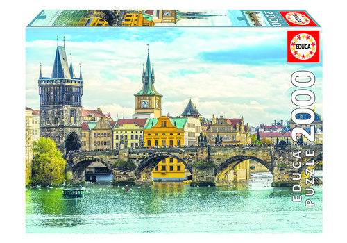 Educa View of Prague - 2000 pieces