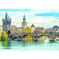 thumb-Vue de Prague - puzzle de 2000 pièces-2