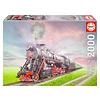 Educa Locomotive à vapeur - puzzle de 2000 pièces