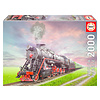 Educa Steam Train - jigsaw puzzle of 2000 pieces