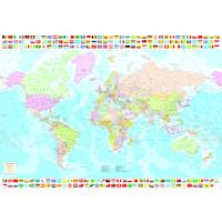 thumb-Carte du monde politique - puzzle de 1500 pièces-2