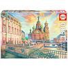 Educa Saint Petersburg - jigsaw puzzle of 1500 pieces