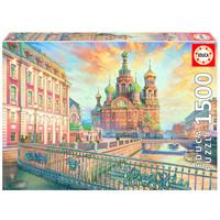 thumb-Saint Petersbourg - puzzle de 1500 pièces-1